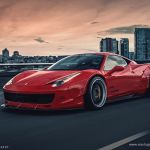 Sr Auto Group Ferrari 458 Italia Liberty Walk Wildebody Cars Modified Wallpaper 1460x973 768706 Wallpaperup