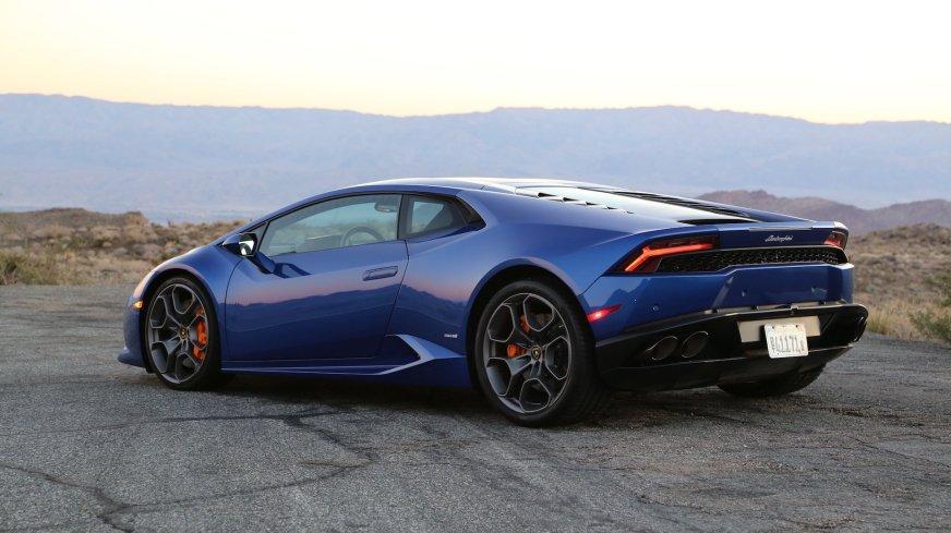 2016 Lamborghini Huracan cars blue coupe wallpaper ...