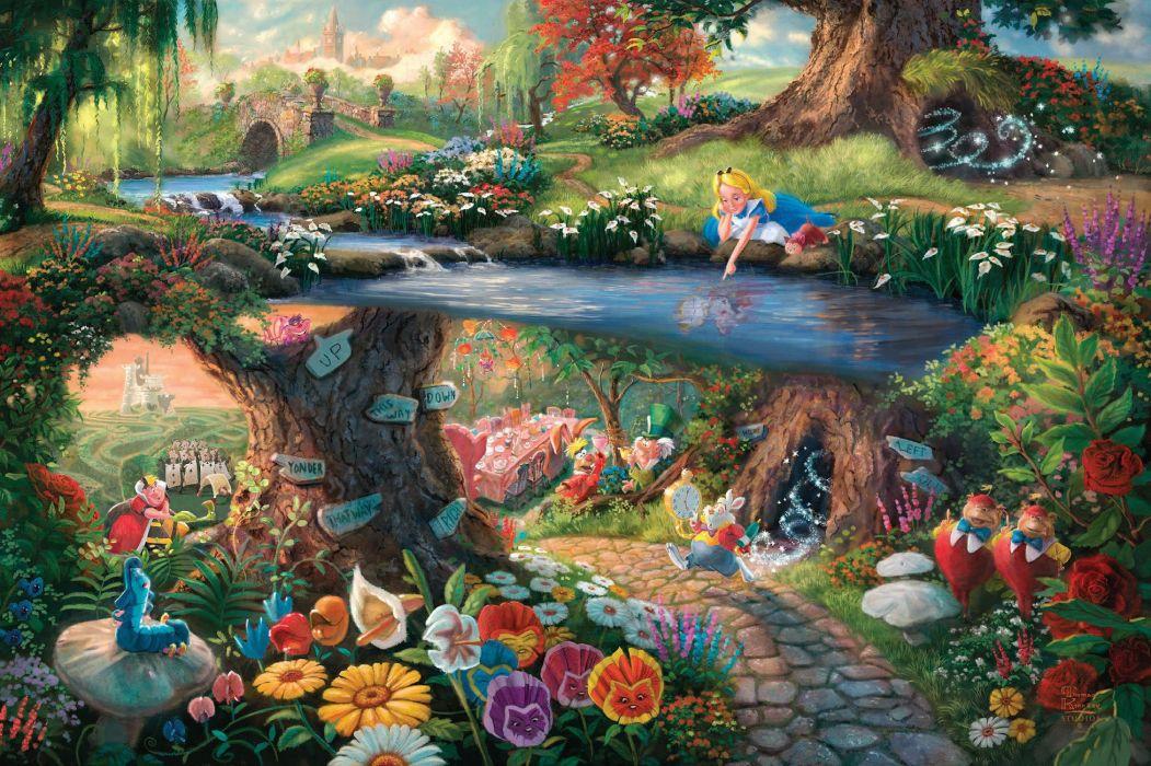 ALICE WONDERLAND Fantasy Fairy Adventure Comedy Depp