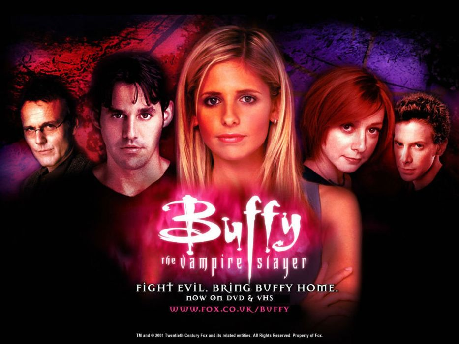 buffy vampire slayer supernatural dark