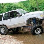 1997 Ford Explorer Sport Suv Offroad 4x4 Custom Truck Wallpaper 2048x1360 991018 Wallpaperup