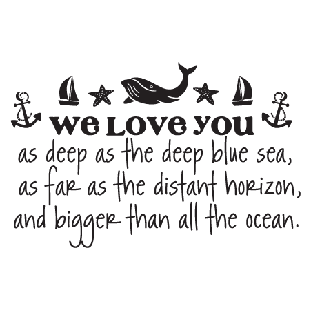 Download We Love You Wall Quotes™ Decal   WallQuotes.com