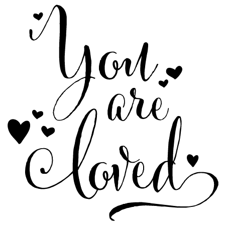 Download You Are Loved Wall Quotes™ Decal | WallQuotes.com
