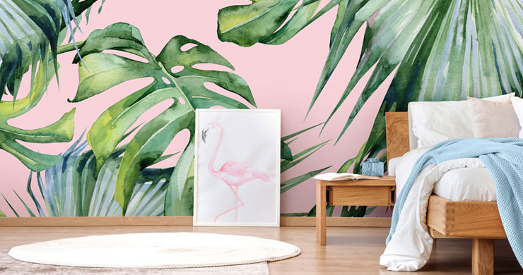 13 Banana Leaf Wallpaper And Palm Leaf Ideas For Creating A Tropical Paradise Wallsauce Uk