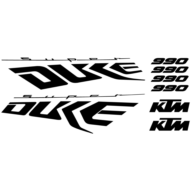 Wallstickers Folies Ktm 990 Super Duke Decal Stickers Kit