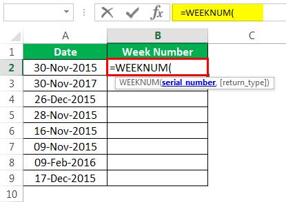 Пример номера недели 1-1