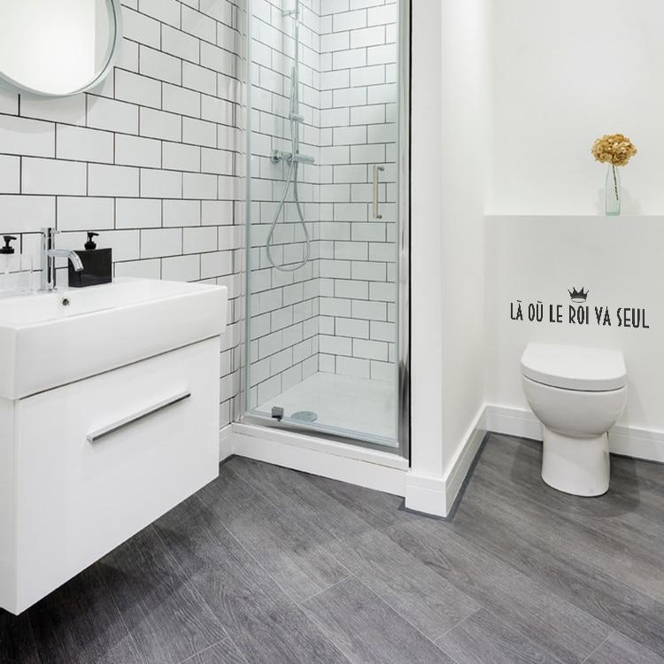 stickers muraux toilettes refaites