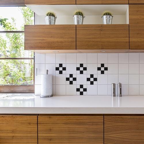 stickers adhesifs pour carrelage de salle de bain bulles de savon