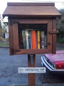 Lower Wallyhood's Little Free Library