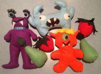 Middle School Meetup Today: Felt Monsters