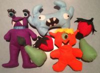 Middle School Meetup Today: Felt Monsters