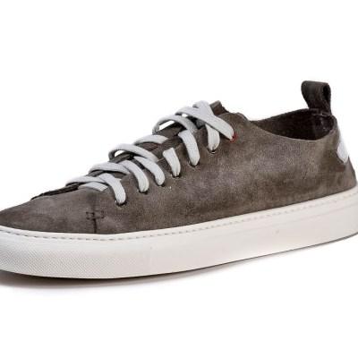 Sneaker uomo Piuma camoscio anchor grey
