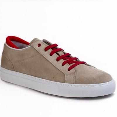 Sneaker uomo Roland camoscio sabbia