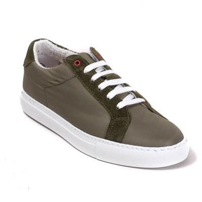 sneaker donna Roland nylon oliva -0590