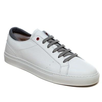sneaker Roland pelle grigio-2398