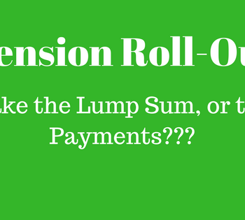 pension roll-out lump sum distribution to IRA