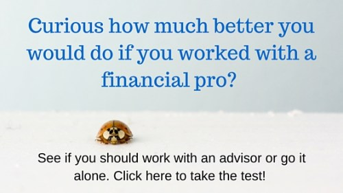 better with a financial advisor