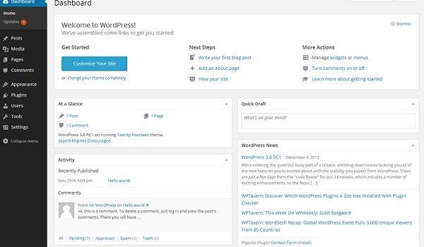 Familiarize yourself with WordPress before using the platform for successful SEO implementation