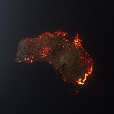 La mappa fake degli incendi australiani che fa il giro del web