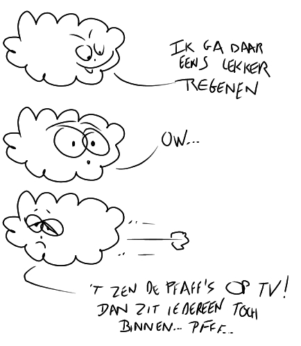 cartoon wolk