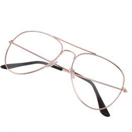 RoseGold - Aviator Glasses 4