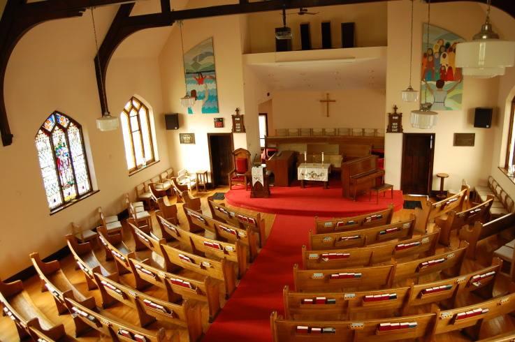 Walton United Church - Sanctuary