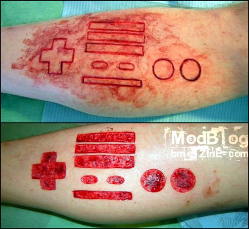 This Nintendo Logo Tattoo is just right for any Nintendo fanboy or fangirl.