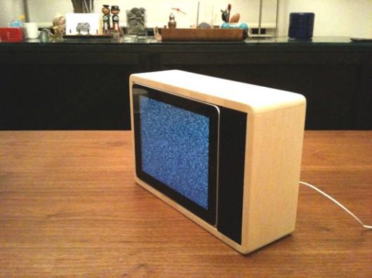 iPad case and fruit bowl