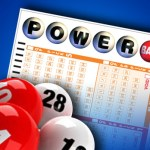 PowerBall Ticket and balls