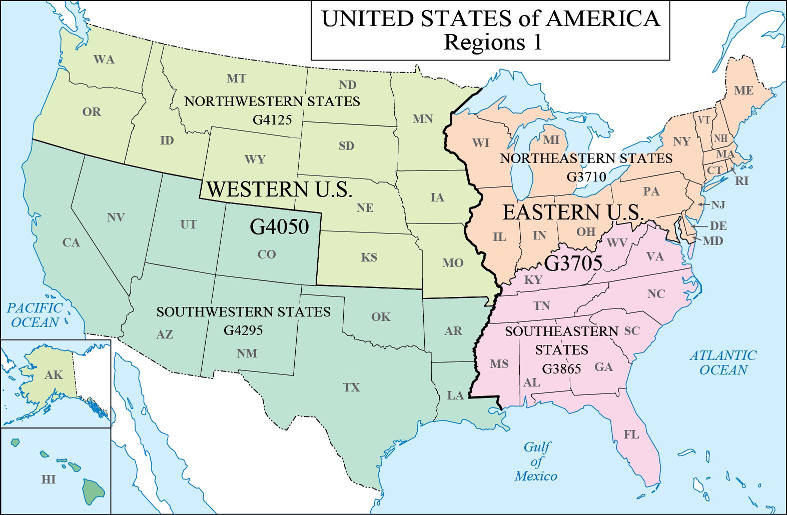 Lc G Schedule Map 5 Usa Regions 1
