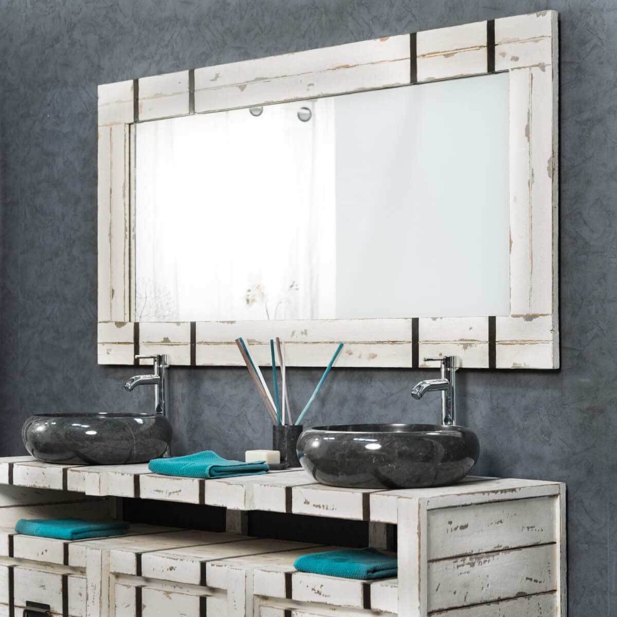 Grand Miroir De Salle De Bain LOFT 160x80 Wanda Collection