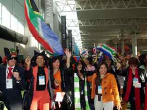 South African network marketers in Salt Lake City.