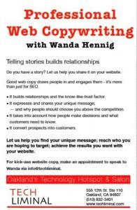 Web Copywriting by Wanda Hennig