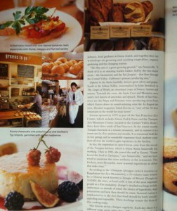 Greens Restaurant featured in Food Illustrated.