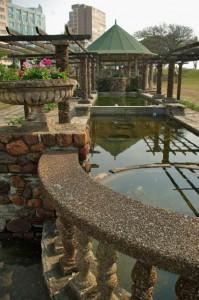 Durban sunken garden and amphitheater, South Africa