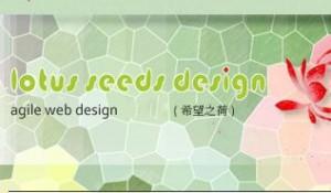 Lotus Seeds Design website screen shot