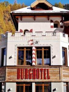 Hotel Fassaden Konzept von Wandart