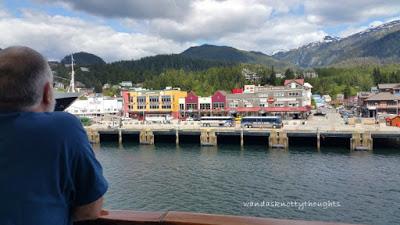 Leaving Ketchikan, Alaska wandasknottythoughts.com
