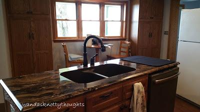 Kitchen sink wandasknottythoughts
