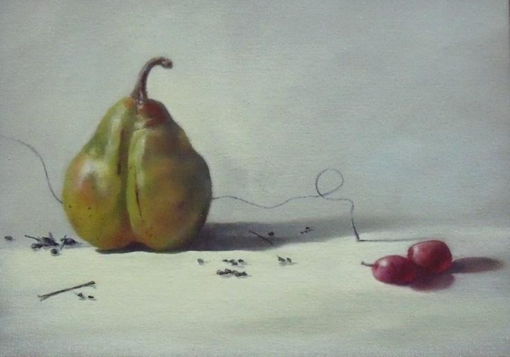 Green Pear (9x12)