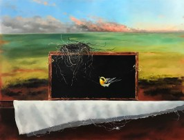 Raveled (30x40 oil on canvas)