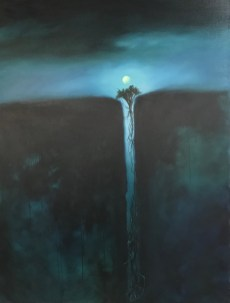 Chasm: Witching Hour (Oil on canvas. 40x30)