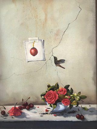 Cherry Bomb (24x18, oil on canvas)