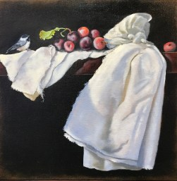 Cotton (20X20 Oil on canvas)