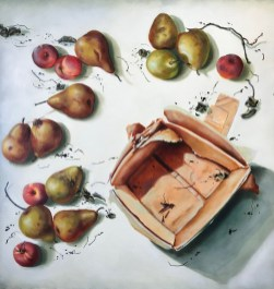 Out of the Box (30X30 Oil on canvas)
