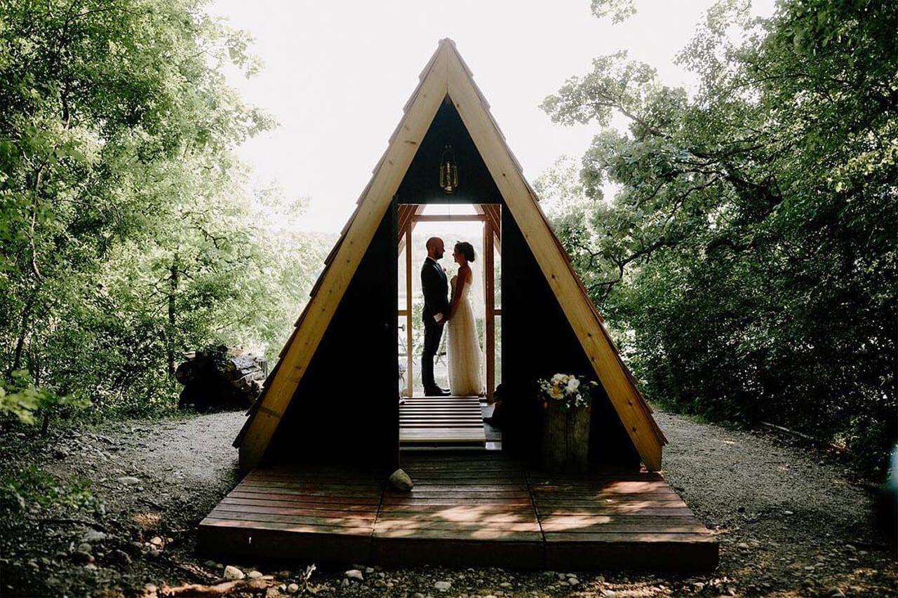 A Frame Camp Wandawega
