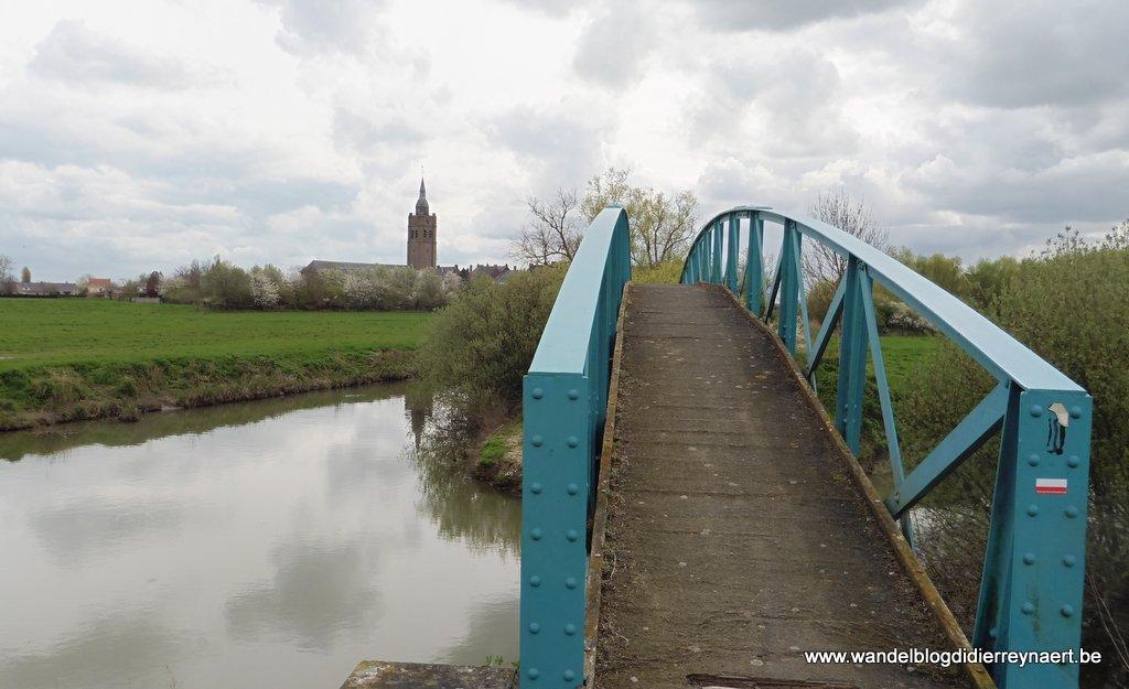 1 april 2017: Roesbrugge-Herzeele (FR) (28 km) (een stukje GR130)