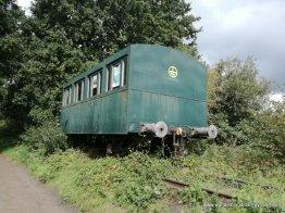 vroegere spoorlijn Waregem-Ingelmunster