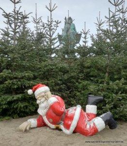 Kerst op het strand van Oostduinkerke