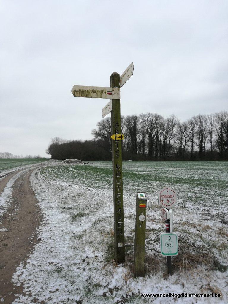 17 maart 2018: Grimbergen-Ternat (GR) (35 km)